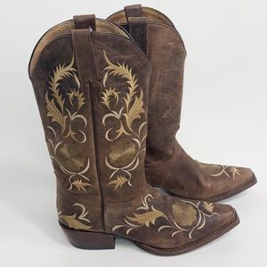 7e37d674c4 Shyanne. Shyanne Brown Embroidered Cowboy Boots